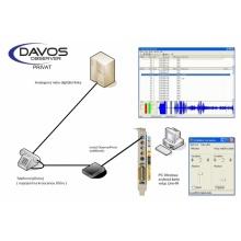 DO-PRIVAT-2L-P Davos nahrávání hovorů, 2 analogové linky - pasivní, sada pro instalaci