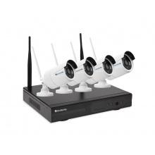Kamera set SECURIA PRO WIFI4CHV1-W 1080P 4CH DVR + 4x IR CAM 1.3MPx