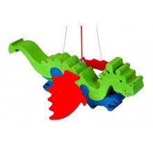 Dřevěné dekorace - Létající drak na zavěšení