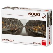 DINO Panoramatické puzzle Amsterdam, Nizozemsko 6000 dílků