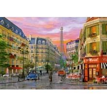 EDUCA Puzzle Ulice v Paříži 5000 dílků