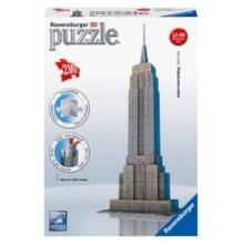 RAVENSBURGER 3D puzzle Empire State Building, New York 216 dílků