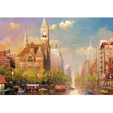 EDUCA Puzzle Odpoledne v New Yorku 6000 dílků