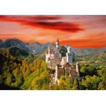 TREFL Puzzle Zámek Neuschwanstein, Bavorsko 2000 dílků