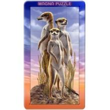 PIATNIK Magna 3D puzzle: Surikaty 32 dílků