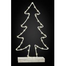 Small Foot Svítící vánoční stromeček kovový