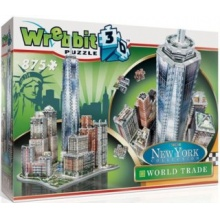 WREBBIT 3D puzzle New York World Trade 875 dílků