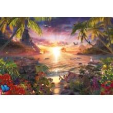 RAVENSBURGER Puzzle Západ slunce v ráji 18000 dílků