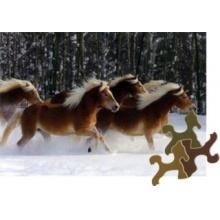 D-TOYS Puzzle Kouzlo koní - Hafling 4, 239 dílků