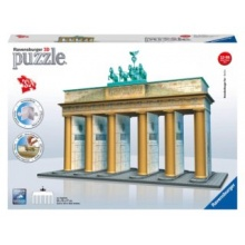 RAVENSBURGER 3D puzzle Braniborská brána, Berlín 324 dílků