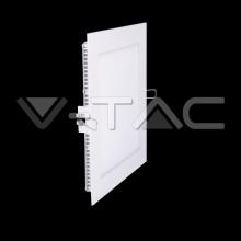 VT-1207-4866 V-TAC - LED podhledové svítidlo, 12W, 230V, 1000lm, 20 000h, 3000K, Ra≥80, 120° čtverec