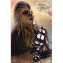 TREFL Nano puzzle Star Wars: Chewie 362 dílků