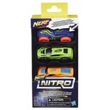 NERF NITRO: Náhradní autíčka A (3 ks)
