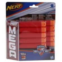 NERF N-STRIKE Náhradní MEGA šipky (10 ks)