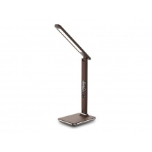 Lampa LED stolní IMMAX KINGFISHER BROWN 08931L