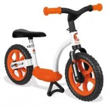 SMOBY Cykloodrážedlo se stojanem - oranžové