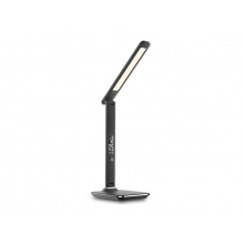 Lampa LED stolní IMMAX KINGFISHER BLACK 08930L