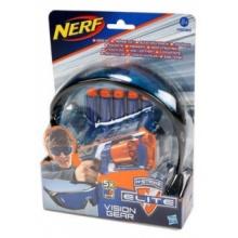 NERF N-STRIKE Výstroj - Brýle a šipky (5 ks)