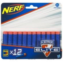 NERF N-STRIKE Náhradní šipky (12 ks)