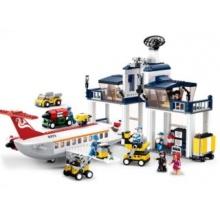 Stavebnice SLUBAN Základna letecké údržby