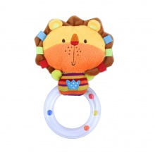 chrastítko plyšové lev s kruhem BABY lev (od 0 let)