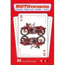 Klasické hrací karty - Motorky