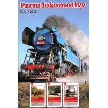 Dětské karty Kvarteto - Parní lokomotivy