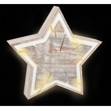 Small Foot Dekorační svítidlo hvězda Tree Pit