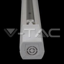 9955 V-TAC 2 metry bílá lišta