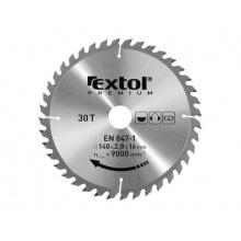 Kotouč pilový s SK plátky 160x2,0x30mm EXTOL PREMIUM 8803215