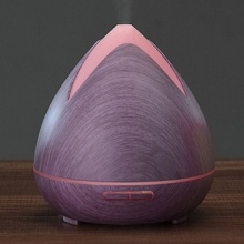 Aroma difuzér 02 purpurový - ultrazvukový, 7 barev LED
