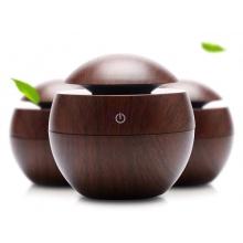 Aroma difuzér Y01 tmavé dřevo - ultrazvukový, USB