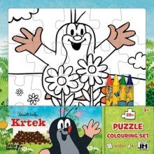 puzzle k vymalování Krtek (od 3 let)