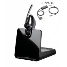 VOYAGER-LEGEND-CS+APS-11 Plantronics - bezdrátová bluetooth náhlavní souprava pro stolní telefony a mobily + APS-11