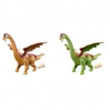 dinosaurus chodí a klade vejce se zvukem 2 barvy (od 3 let)