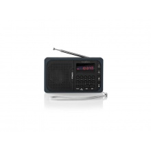 Rádio FM / USB / MICRO SD NEDIS RDFM2100GY BLACK / GREY