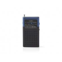 Rádio FM NEDIS RDFM1100BU BLACK / BLUE