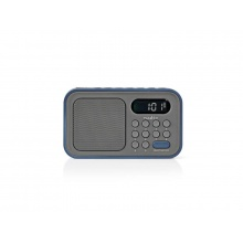 Rádio FM NEDIS RDFM2200BU GREY / BLUE