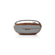 Rádio FM / BLUETOOTH NEDIS RDFM5300BN BROWN / SILVER