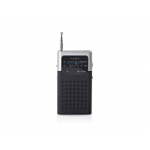 Rádio FM NEDIS RDFM1100GY BLACK / GREY