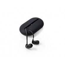 Sluchátka do uší NEDIS HPWD1020BK BLACK s mikrofonem