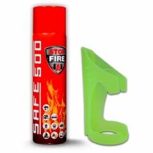 SAFE_SET STOPFIRE - hasící sprej 500ml + držák