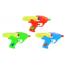pistole vodní 18 cm 3 barvy (od 3 let)