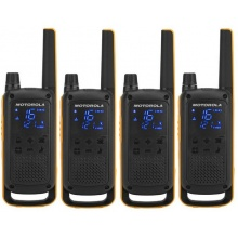 TLKR T82 EXTREME QUAD Motorola - sada 4 vysílaček PMR446, dosah až 10 km, IPx4, + 4x headset