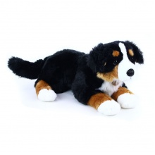 velký plyšový pes salašnický ležící, 61 cm (od 0 let)