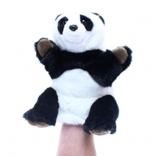 plyšový maňásek panda, 28 cm (od 0 let)