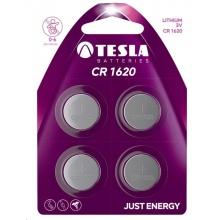 1099137156 Tesla - CR 1620 Lithium baterie 3V, BLISTER/4ks