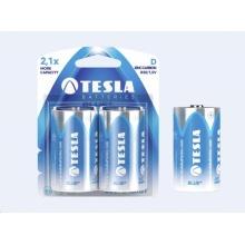 1099137023 Tesla - BLUE+ Zinc Carbon baterie D (R20, velký monočlánek, blister) 2 ks