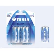1099137020 Tesla - BLUE+ Zinc Carbon baterie C (R14, malý monočlánek, blister) 2 ks