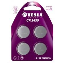 1099137108 Tesla - CR 2430 Lithium, CR2430, BLISTER/4ks